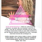 Yoga workshop Raw Womanhood