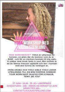 Yoga workshop Raw Womanhood @ Linköpings dansstudio   Östergötlands län   Sverige