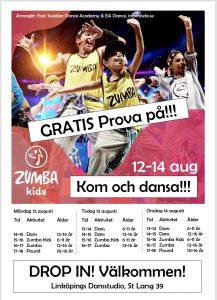 Gratis prova på Kids ESDA @ Linköpings dansstudio